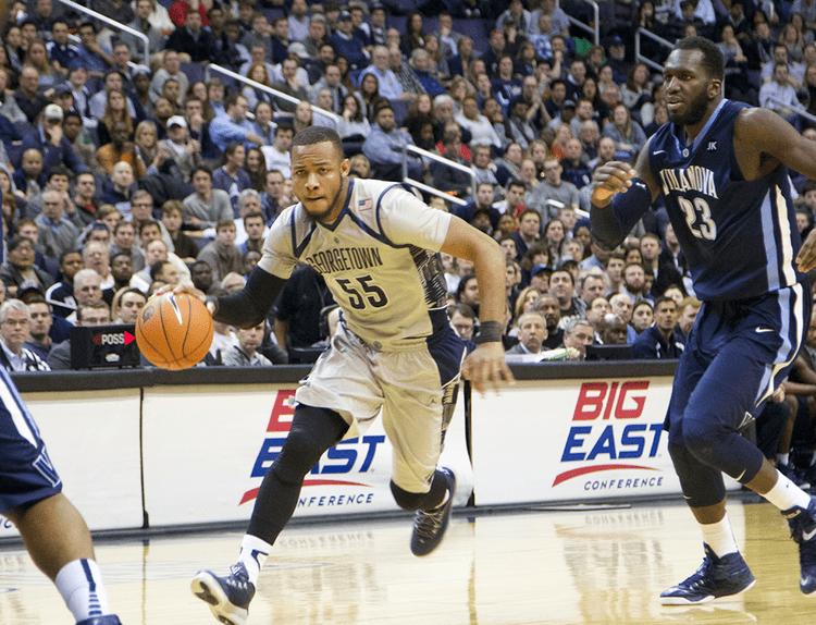Georgetown Hoyas men's basketball Men39s Basketball Georgetown Upsets No 4 Villanova 7858