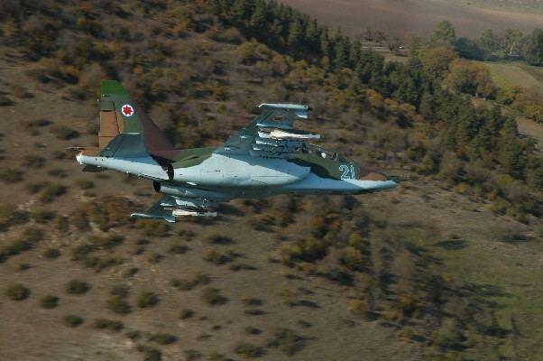 Georgian Air Force FileSu25 plane Georgian Air Forcejpg Wikimedia Commons