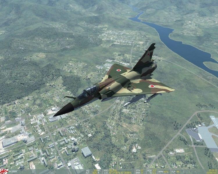 Georgian Air Force Air Force Mirage 2000C