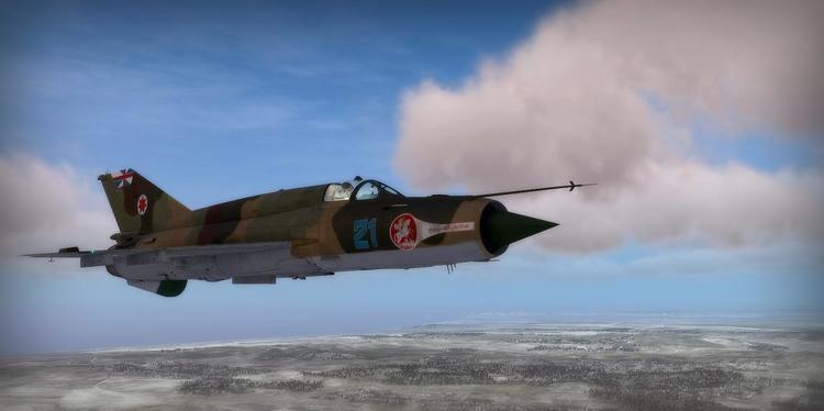 Georgian Air Force Georgian Air Force Camo Scheme MiG21bis