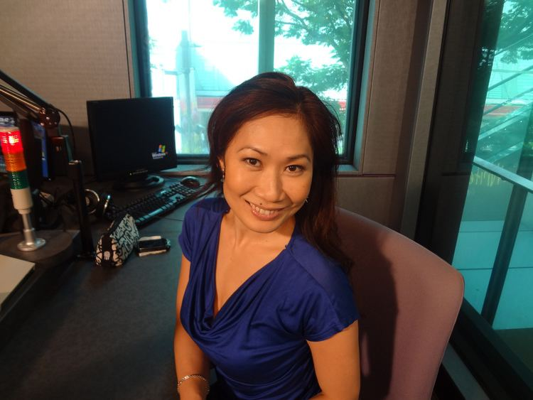 Georgina Chang Georgina Chang from Mediacorp Lush 995 Norah Salazar Flickr