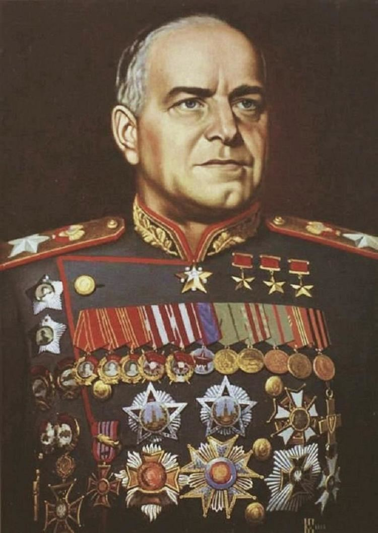 Georgy Zhukov w Warfare Military amp Militaria