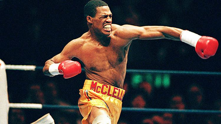 Gerald McClellan On This Day Thunderous puncher Gerald McClellan was born in 1967