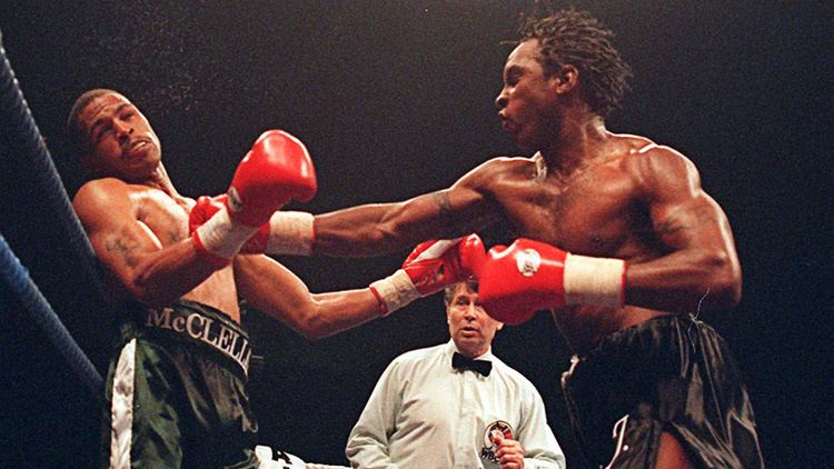 Gerald McClellan On This Day Nigel Benn and Gerald McClellan wage a tragic war