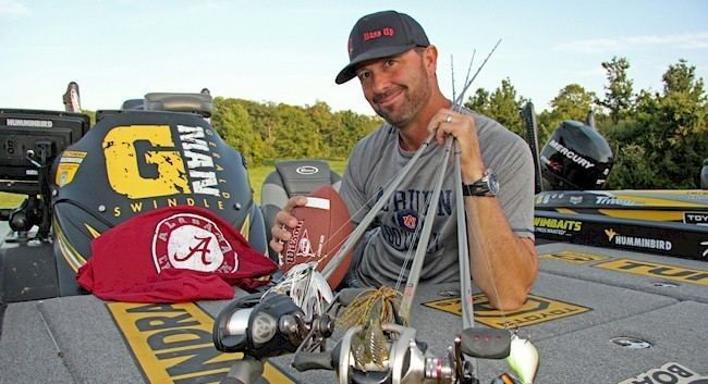Gerald Swindle HOW SWINDLE FISHES FOOTBALL SEASON The Bass Zone