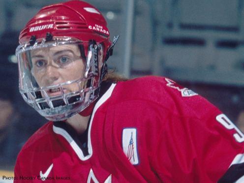 Geraldine Heaney CSIO Hockey Hall of Fame Inductee Geraldine Heaney was