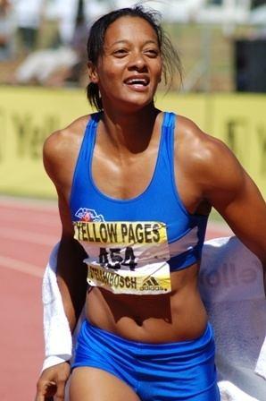 Geraldine Pillay Sport hoogtepunte in September 2010 OFM