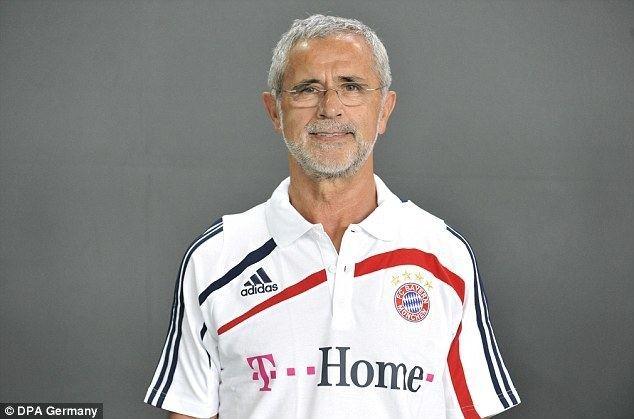 Gerd Müller Gerd Muller Bayern Munich and Germany legend suffering from