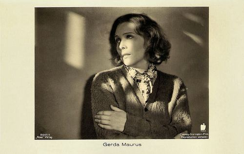 Gerda Maurus European Film Star Postcards Gerda Maurus