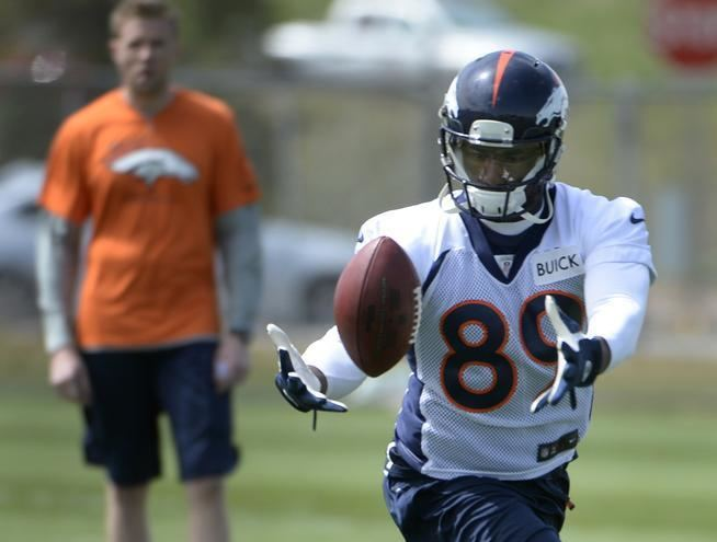 Gerell Robinson Broncos lose practice squad tight end Gerell Robinson to