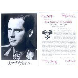 Gerhard Schöpfel SPGL14 Major Gerhard Schopfel KC Aviation Collectables