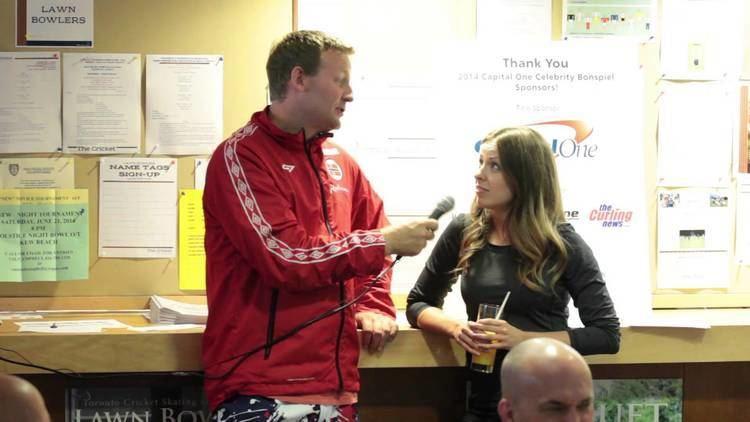 Geri-Lynn Ramsay Capital One Celebrity Bonspiel Peter Steski Interviews