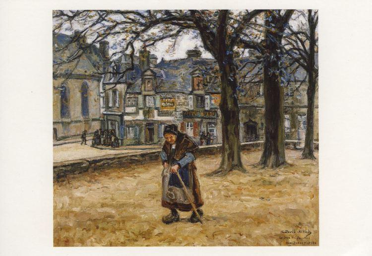 a6fe5909f9f Germain David-Nillet Carte postale Le jour des pauvres Le Faout Germain  DavidNillet