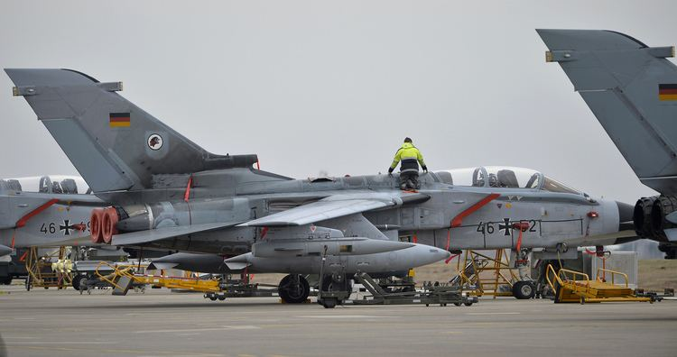 German Air Force Russian Fighter Jets Regularly Tail German Air Force in Syria