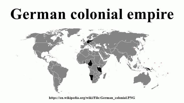 German colonial empire German colonial empire YouTube