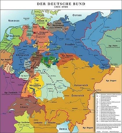 German Confederation The Restoration of Germany