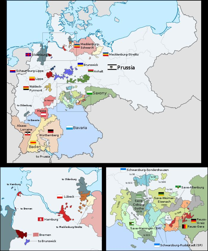 German Empire Unification of Germany Wikipedia