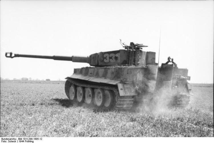 German heavy tank battalion