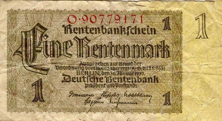 German Rentenmark