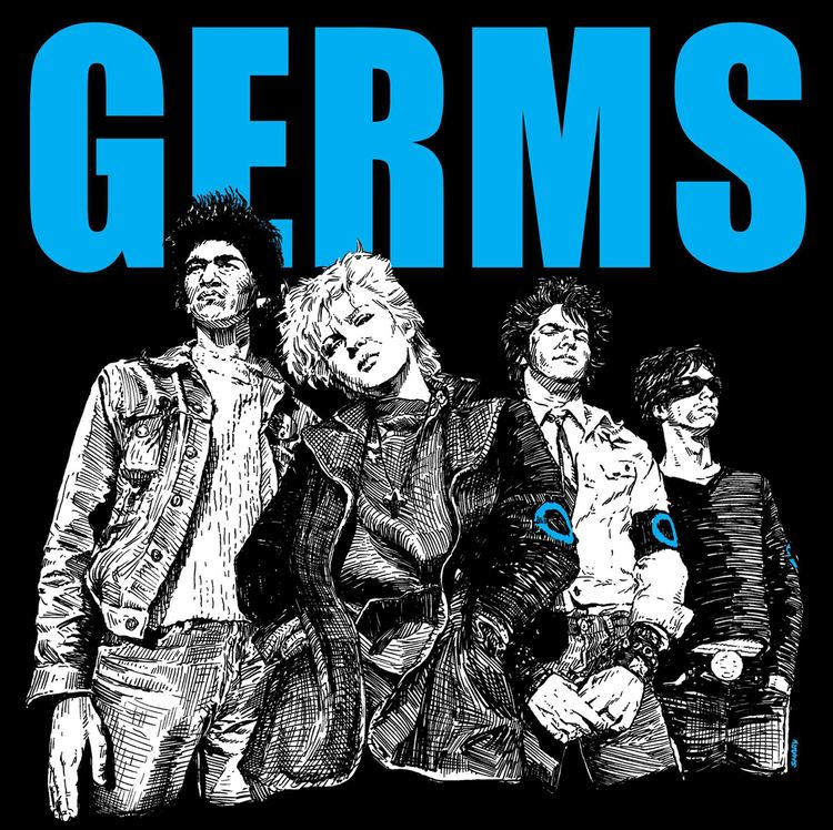 Germs (band) GERMS T SHIRT