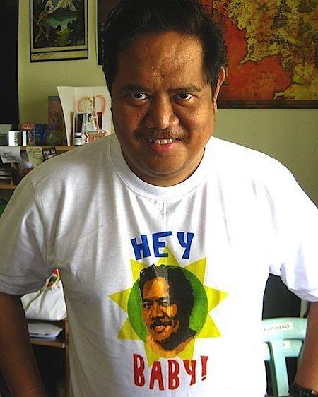 Gerry Alanguilan Hey baby Cartoonist Gerry Alanguilan is Viral Video Star