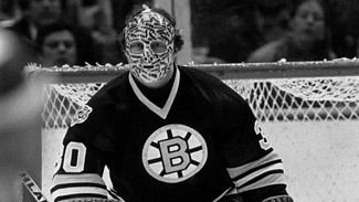 Gerry Cheevers Cheevers39 stitches mask a HallofFame idea NHLcom