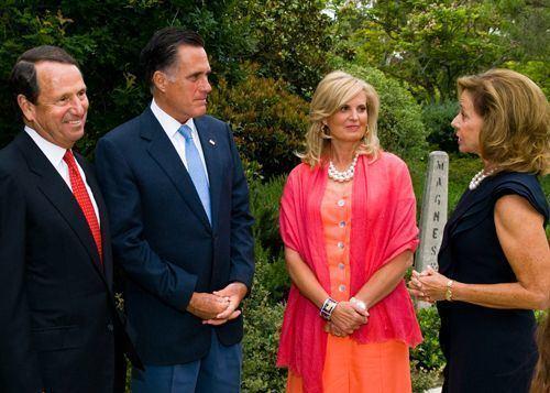 Gerry Parsky Gerry Parsky Mitt Romney Ann Romney Robin Parsky Mitt Ann