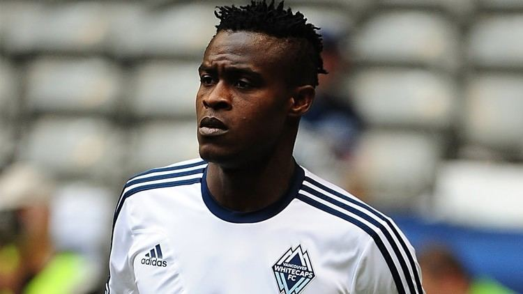 Gershon Koffie GOAL Gershon Koffie curbs the ball in Vancouver