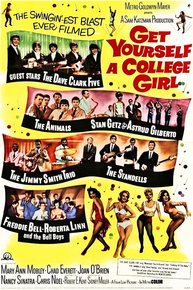 Get Yourself a College Girl Get Yourself a College Girl 1964 Beach Party Movies