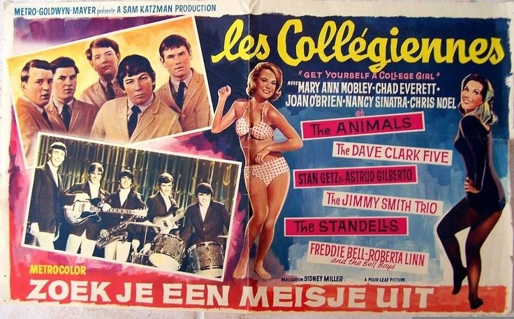 Get Yourself a College Girl Get Yourself a College Girl 1964 starring Mary Ann Mobley Chad