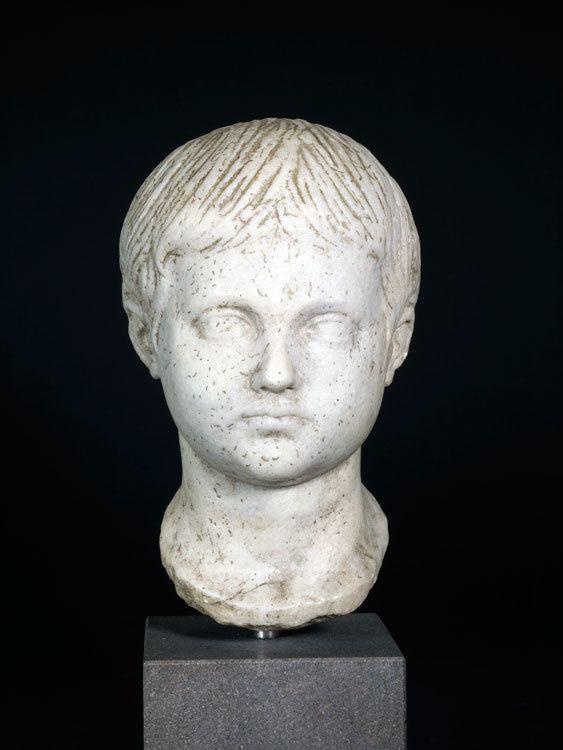 Geta (emperor) A Roman Marble Head of a Geta as a Boy DC157 LSO For Sale