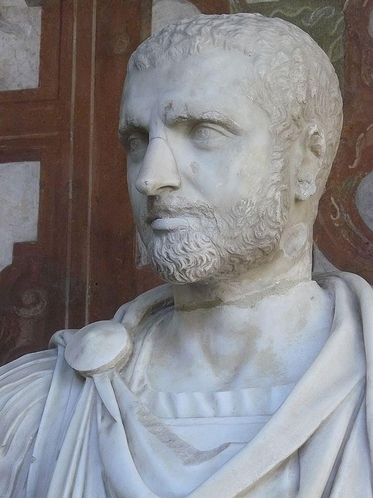 Geta (emperor) Bust of Roman Emperor Publius Septimius Geta marble 3rd ce Flickr