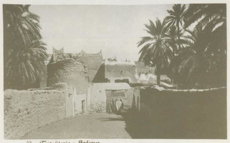 Ghadames in the past, History of Ghadames