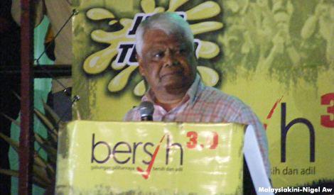 Ghafar Baba Malaysian First Malaysian Last BERSIH 30 Tamrin Abdul