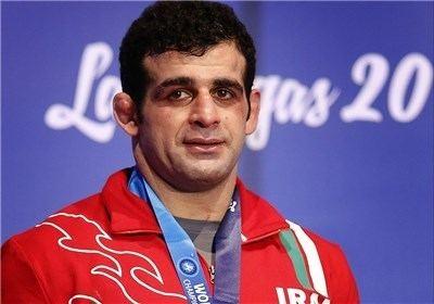 Ghasem Rezaei GrecoRoman World Championships Iran39s Rezaei claims silver