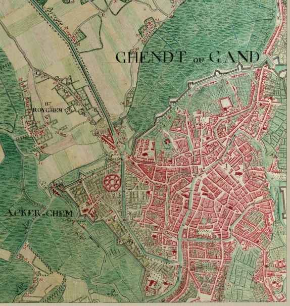 Ghent in the past, History of Ghent