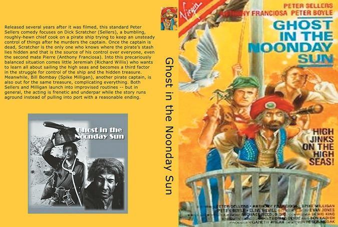 Ghost in the Noonday Sun Peter Sellers movie used as a smoke screen for the preparation of