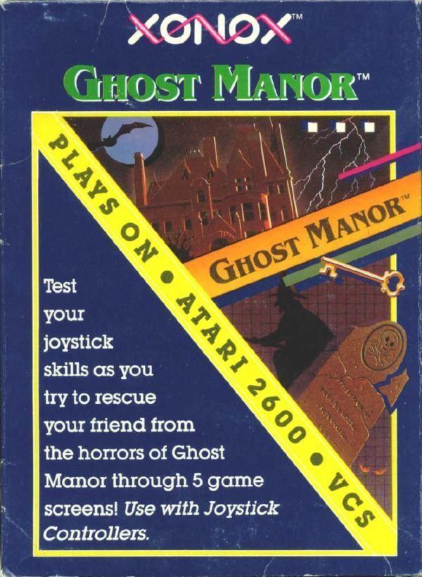 Ghost Manor Atari 2600 VCS Ghost Manor scans dump download screenshots ads