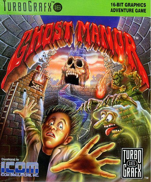 Ghost Manor Ghost Manor USA ROM lt TG16 ROMs Emuparadise