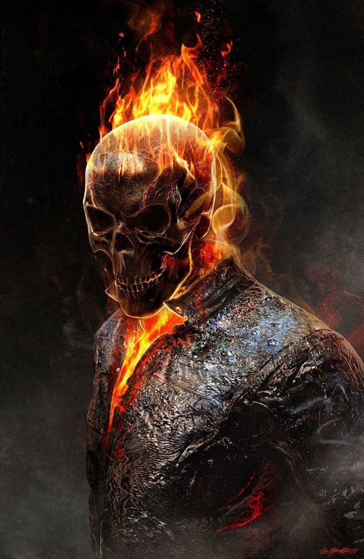 Ghost Rider Ghost Rider not a huge fan of the movies but this image is cool