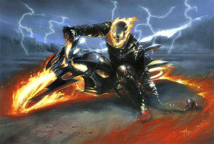 Ghost Rider ghostrider DeviantArt