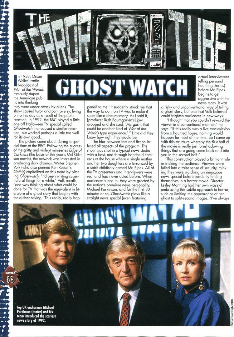 Ghostwatch Stephen Volk Ghostwatch