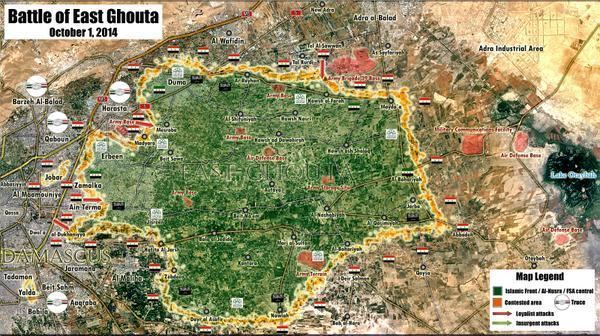 Ghouta Peto Lucem on Twitter quotNEW MAP Battle of East Ghouta Damascus