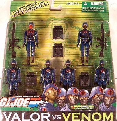 G.I. Joe: Valor vs. Venom Action Toys and Collectables GI JOE Valor vs VenomCobra Infantry