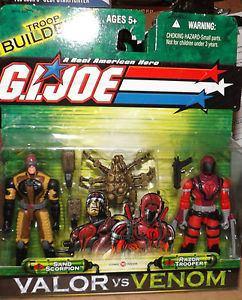 G.I. Joe: Valor vs. Venom GI JOE VALOR VS VENOM SAND SCORPION and RAZOR TROOPER eBay