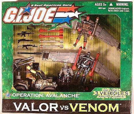 G.I. Joe: Valor vs. Venom Action Toys and Collectables GI Joe Valor vs Venom Operation