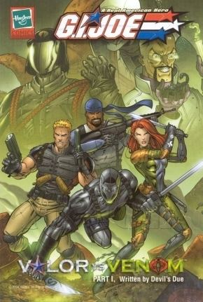 G.I. Joe: Valor vs. Venom Valor vs VenomHasbros Mini ComicsGI Joe Comic Book Archive