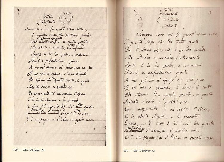 Giacomo Leopardi Giacomo Leopardi the greatest italian poet Surprising Italy