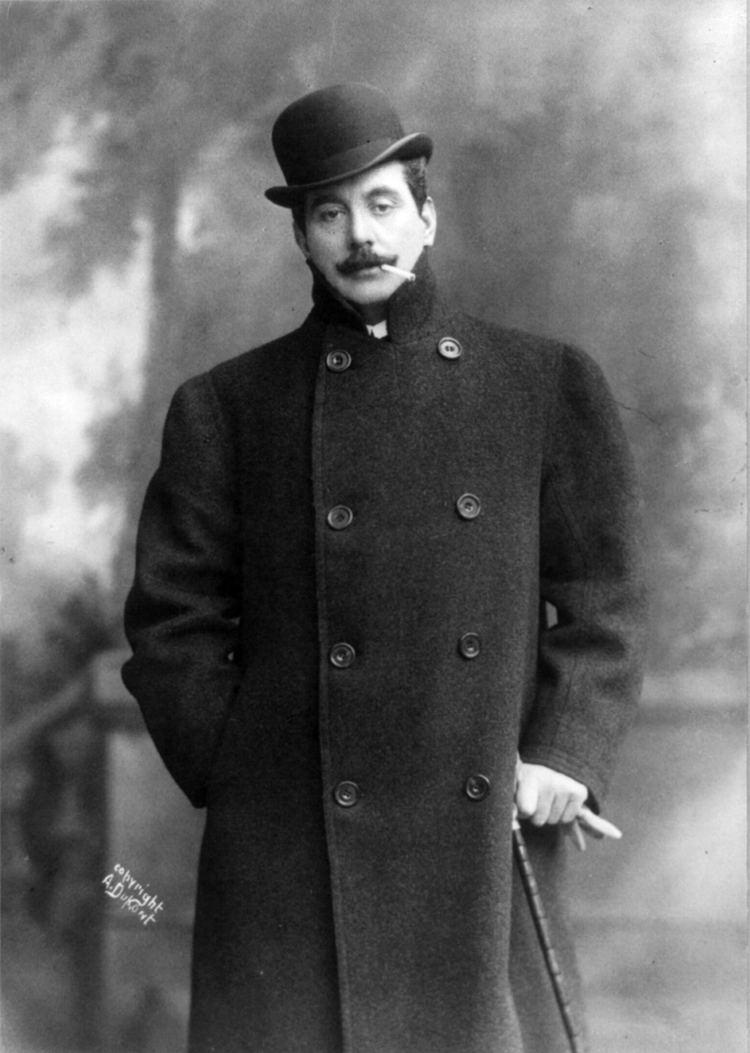 Giacomo Puccini Giacomo Puccini Wikipedia the free encyclopedia