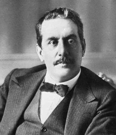 Giacomo Puccini Giacomo Puccini Italian composer Britannicacom